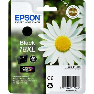 Epson T1811 XL, 470 stran - originální černá