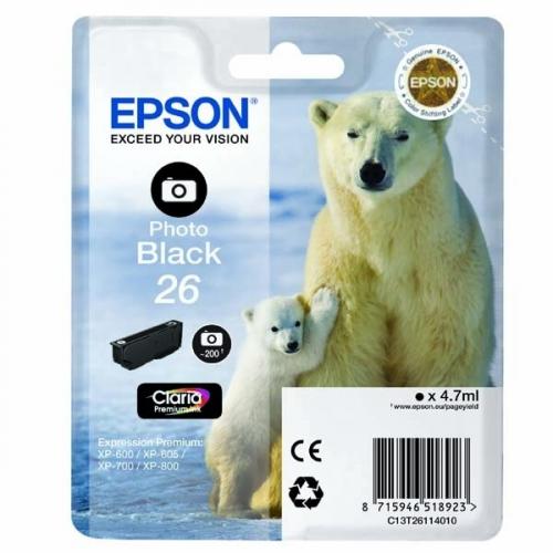 Epson T2611, 200 stran černá