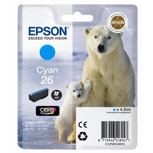 Epson T2612, 4,5ml modrá
