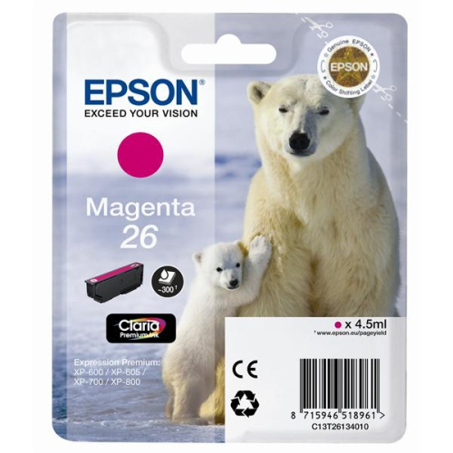 Epson T2613, 4,5ml červená