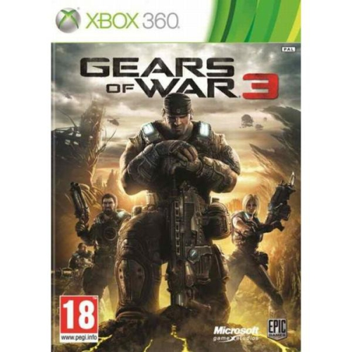 Microsoft Xbox 360 Gears of War 3