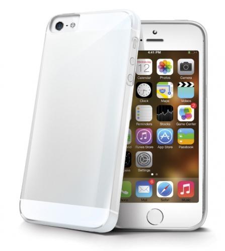 Celly Gelskin pro Apple iPhone 5/5s/SE průhledný