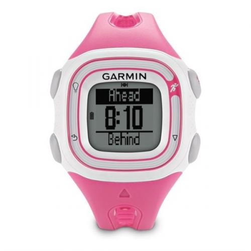 Garmin Forerunner 10 bílé/růžové