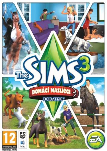 EA PC THE SIMS 3: Domácí mazlíčci
