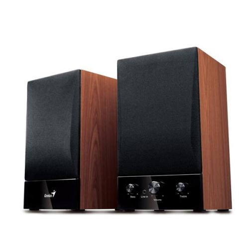 Reproduktory Genius SP-HF 1250B 2.0 černé/imitace dřeva