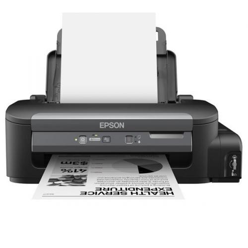 Fotografie Tiskárna inkoustová Epson WorkForce M100, CIS A4, 34str./min, 1440 x 720, USB