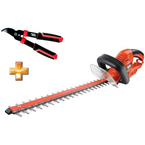 Black-Decker GT5055, elektrické + nůžky na větve