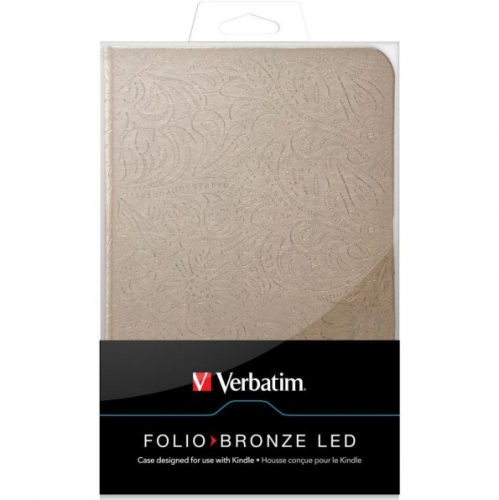 Verbatim Folio Bronze LED pro Kindle