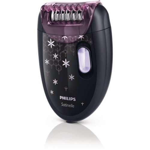 Philips Satinelle Soft HP6422/01 černý