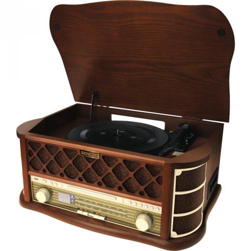 Gramofon Sencor STT 016, RETRO dřevo