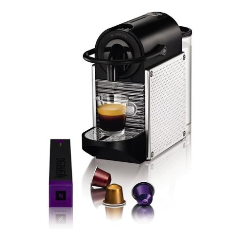 DeLonghi Nespresso Pixie EN125M černé/nerez