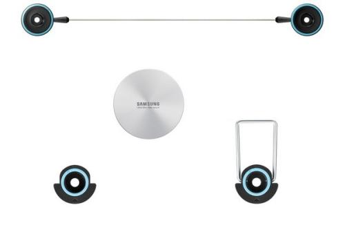 """Samsung WMN3000C pevný, pro plazmové televizory F8500(60"""",64"""")"""
