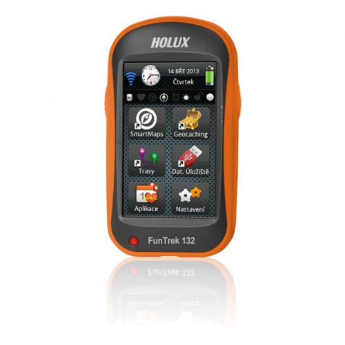 Holux Funtrek 132 CZ/SK černá/oranžová