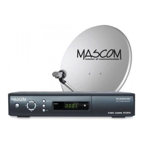 Mascom MC2600/60+karta Skylink Standart M7, příjem jedné družice černý