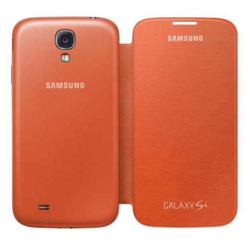 Samsung pro Galaxy S4 (EF-FI950BOEG) oranžové