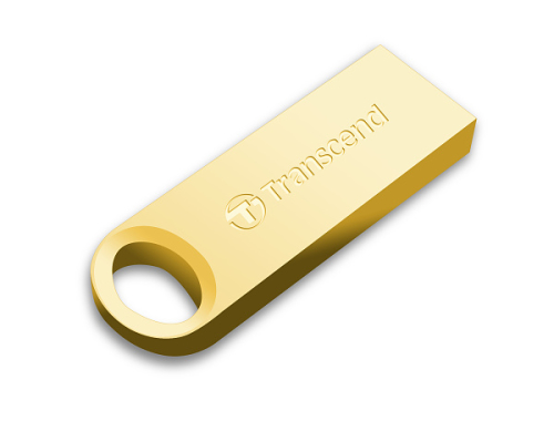 Transcend JetFlash 520G 16GB zlatý/kovový