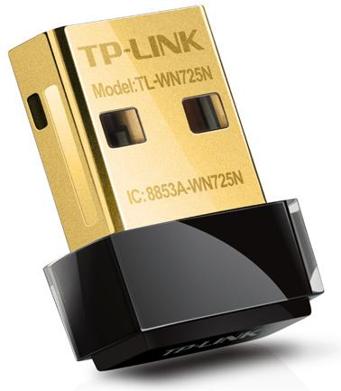 TP-Link TL-WN725N černý