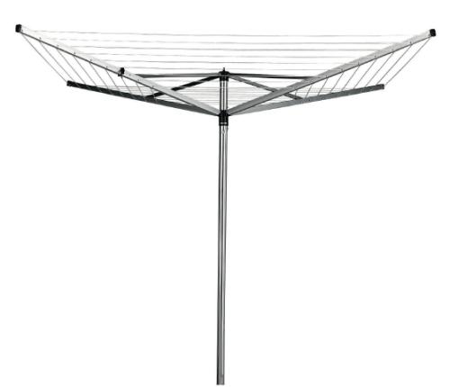 Brabantia Topspinner 40m, kovový stojan šedý