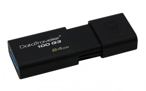 Kingston DataTraveler 100 G3 64GB černý