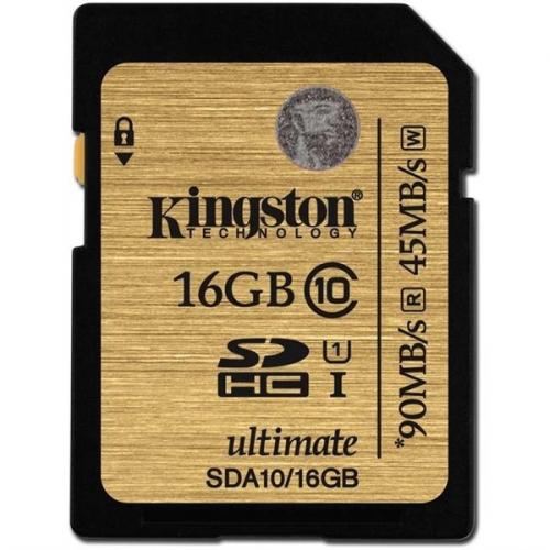 Kingston SDHC 16GB UHS-I U1 (90R/45W)