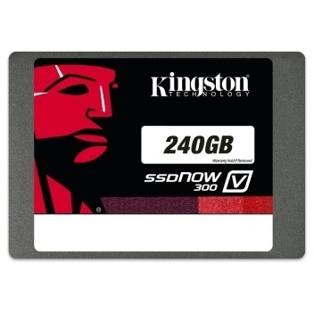 Kingston SSDNow V300 240GB (7mm) Upgrade Kit černý