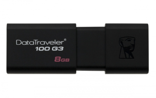 Kingston DataTraveler 100 G3 8GB černý