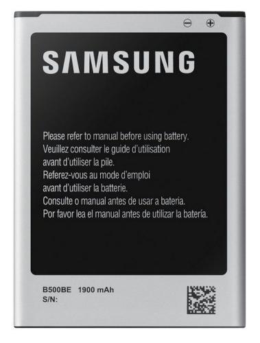 Samsung pro Galaxy S4 mini s NFC, Li-Ion 1900mAh (EB-B500BEBE) bílá