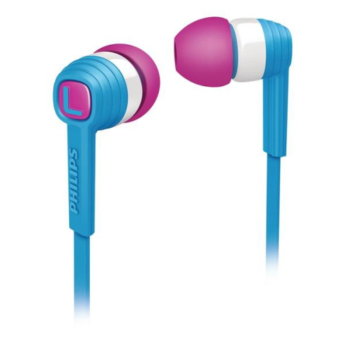 Philips SHE7050BL bílá/modrá/růžová