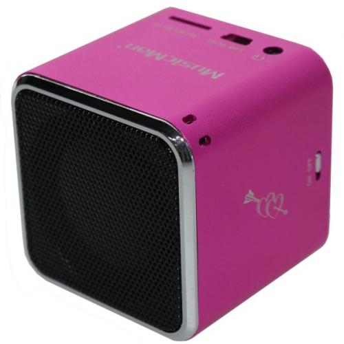 Technaxx Mini MusicMan růžový
