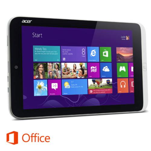 Acer Iconia Tab W3-810 stříbrný