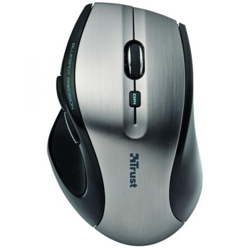 Trust MaxTrack Wireless Mini černá/stříbrná