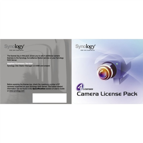 Synology License Pack x 4