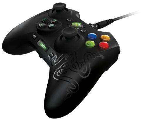 Razer Sabertooth pro PC, Xbox 360 černý