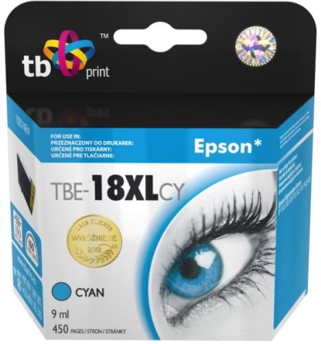 Fotografie TB Epson T1812 C - kompatibilní