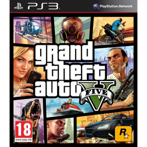 RockStar PlayStation 3 Grand Theft Auto V