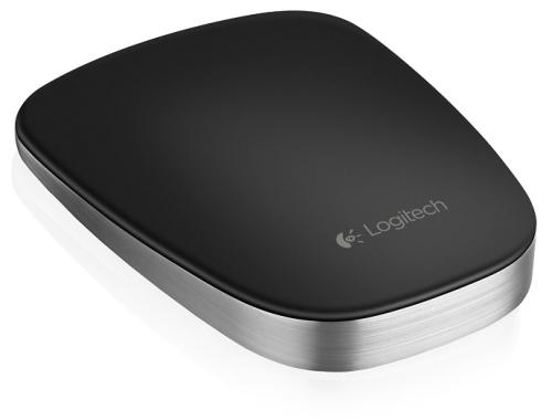 Logitech Touch Mouse T630 černá/chrom