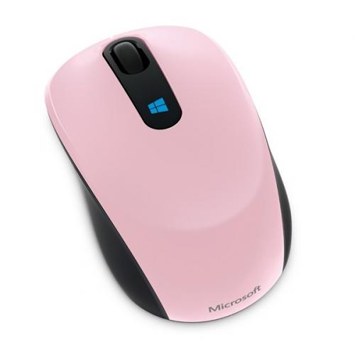 Myš Microsoft Sculpt Mobile růžová (/ BlueTrack / 3 tlačítka / 1000dpi)
