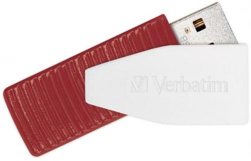 USB Flash Verbatim Store 'n' Go Swivel 16GB červený (USB 2.0)