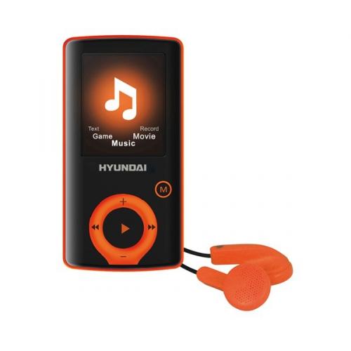 Hyundai MPC 883 FM, 4GB černý/oranžový