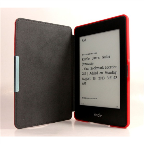 C-Tech AKC-05 pro Amazon Kindle PaperWhite, Wake / Sleep, hardcover červené