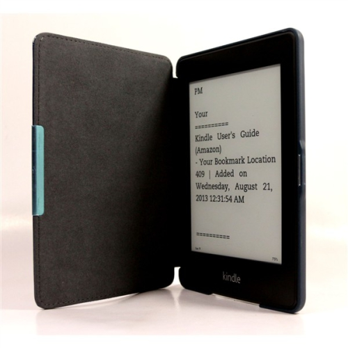 C-Tech AKC-05 pro Amazon Kindle PaperWhite, Wake / Sleep, hardcover modré