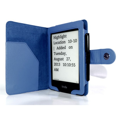 C-Tech AKC-06 pro Amazon Kindle PaperWhite, Wake / Sleep modré