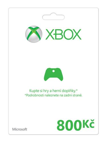 Microsoft Xbox 360 Xbox LIVE FPP Czech Czech Republic 800 CZK
