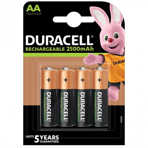 Duracell StayCharged AA 2500 mAh