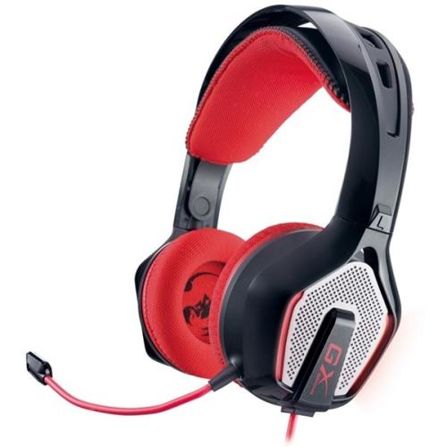 Genius HS-G850 gaming černý/červený