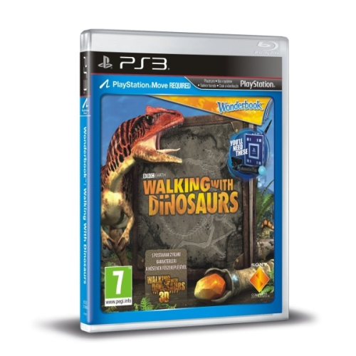 Sony PlayStation 3 MOVE Wonderbook: Walking With The Dinosaurs