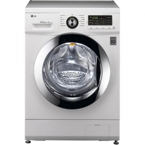 LG F7096QD bílá/chrom