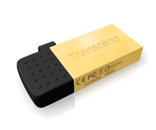 Transcend JetFlash 380G 8GB zlatý