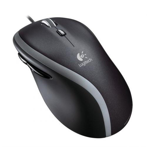 Logitech Corded Mouse M500 černá