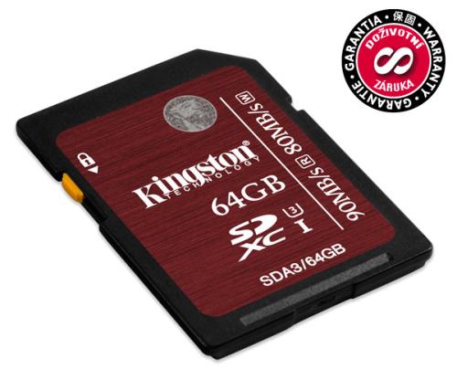 Kingston SDXC 64GB UHS-I U3